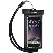 Fit i seguenti dispositivi:  Questa custodia impermeabile universale è progettata per i grandi smartphone con dimensione fino a 6.0 pollici, come dire iPhone 6s plus/ 6s/ 6 plus/ 6/ 5, Samsung Galaxy s6/ s5/ s4/ note3, iPod Touch, HTC, Nexus,...