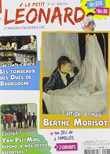 Le Petit Léonard N 247 Berthe Morisot - Juin 2019 par Collectif