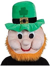 Leprechaun Mascot Head - Adult Accessory Adult - One Size