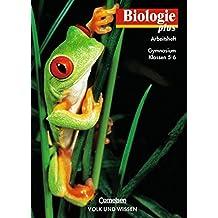 Biologie plus - Gymnasium Mecklenburg-Vorpommern, Sachsen und Thüringen: Biologie plus, Arbeitsheft, Ausgabe Gymnasium