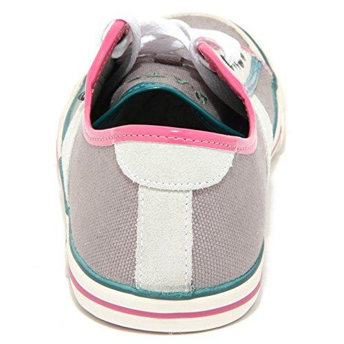 0832O sneakers donna D.A.T.E. TENDER tortora shoes woman tortora/rosa/verde