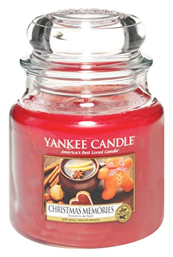 Yankee Candle 1275311E Christmas Memories Cassis mittleres Jar