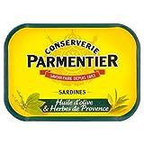 Parmentier H. Sardine Oliva 135g Di Olio E Erbe (Confezione da 6)