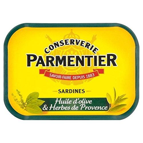 H. Sardines Parmentier D'Huile D'Olive Et Herbes 135G - Paquet de 2