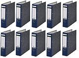 10 LEITZ Ordner 180° 1080-50-35 Blau Wolkenarmor 8cm Aktenordner 80mm DIN A4 Büro mit Schlitzen