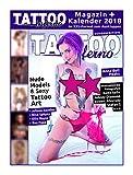 Tattoo Inferno Sonderedition 2017 + Tattoo Inferno Kalender 2018 im XXL-Format zum Ausklappen mit großformatigen Fotos von Anna Bell Peaks, Rae Papa, Juliana Raudies, Nina Sphynx, Ellie Rayne u.v.a.
