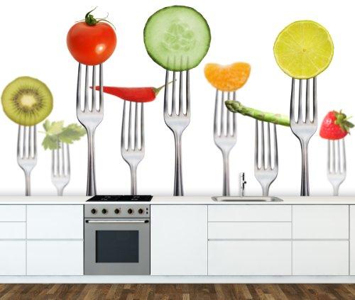 Geschmack Diät (Fototapete Big Diet - weitere Größen und Materialien wählbar - DEUTSCHE Profi QUALITÄT von Trendwände)