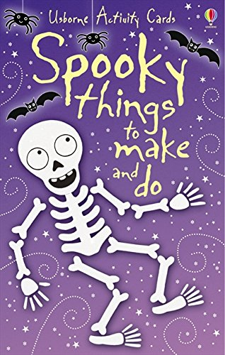 Spooky Things to Make and Do Activity Cards (Activity and Puzzle Cards)