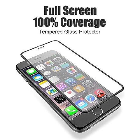 growred (TM) 3D 9H Tempered Glas für iPhone 77Plus HD