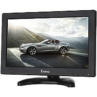 Eyoyo 11.6 Pulgadas Monitor LCD Pantalla (16: 9 ,1366 * 768, 350cd / ㎡ ,IPS,VGA, BNC, HDMI,TV,AV, 600:1)