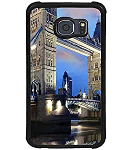 PRINTSWAG BRIDGE VIEW Designer Back Cover Case for SAMSUNG GALAXY S6