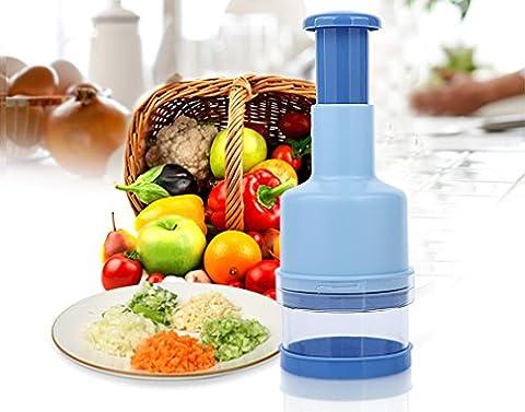 Nouvelle cuisine pression Hachoir à Légumes Cutter Trancheur Éplucheur Dicer,