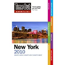 Time Out Shortlist New York 2010 by Time Out Guides Ltd (2009-09-03)