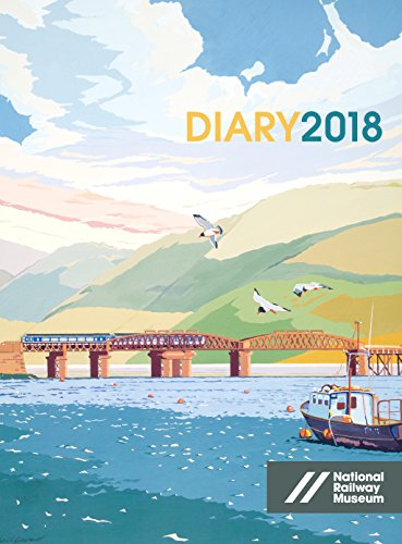 National Railway Museum Desk Diary 2018 (Diaries 2018)