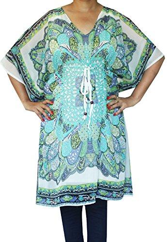 maple-clothing-stampato-womens-caftano-abito-da-sera