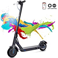 COLORWAY Electric Scooter Adult, 7.5Ah Long-Range Battery, 350W Motor Up to 25km/h, 8.5 Inch Solid Rubber Tire, Foldable E-Scooter Portable &Lightweight Design