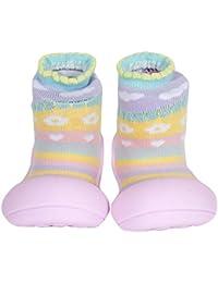 attipas attibebe–Zapatos de color rosa bebé Walker zapatos de niños zapatillas