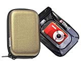 Foto Kamera Tasche CARBON Set mit Unterwasserbeutel für Canon Ixus 220 285 275 265 255 185 180 175 155 150 Sony DSC- WX350 WX220