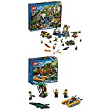 Lego City 60161 - Dschungel-Forschungsstation + Dschungel-Starter-Set