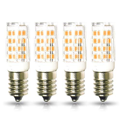 lampaous® E14LED Glühbirne, Super helle SMD 5Watt entspricht 40Watt Glühlampe E14Kerze Lampe, 400Lumen energying Energiesparend, warm weißen Lichtern, nicht dimmbar,