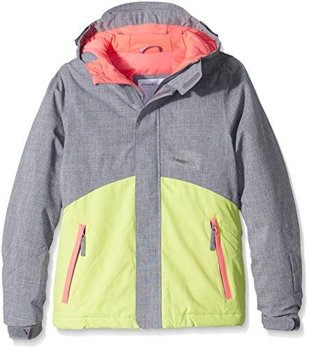 O'Neill Mädchen Skijacke PG Coral Jacket, Siberian Grey, 128, 555074