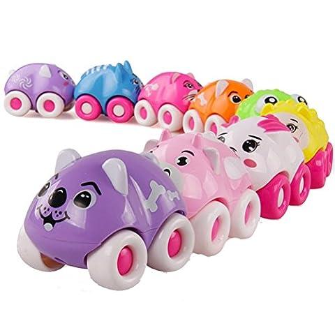 Jouets pour bébé,Transer® Mignon magnétique Train animaux Puzzle cadeaux pour