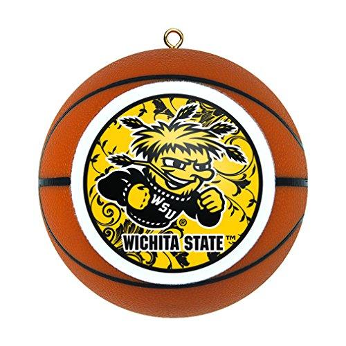 Wichita State Shockers Replica Basketball Ornament ()