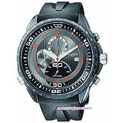 Vagary Watch By Citizen Quartz ia6-901-60(Rechargeable) quandrante Grey Steel Strap CAUCCIU '