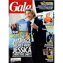 GALA [No 797] du 17/09/2008 - JEAN SARKOZY - SON MARIAGE AVEC JESSICA - NATTY BELMONDO ET JEAN-PAUL - CELINE DION - MAQUILLAGE ET COIFFURE - BENJAMIN CASTALDI - LAURENCE BOCCOLINI - WOODY ALLEN