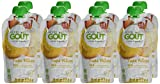 Good Goût - BIO - Gourde de Purée de Fruits Poire Williams dès 4 Mois 120 g - Pack de 8