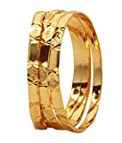 Sthrielite Gold Plated Bangle