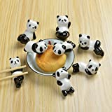 Vancore (TM) – Soporte para palillos chinos de animales de cerámica.