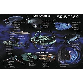 Star Trek Poster Famous Starfleet Ships Collage (101,5cm x 68,5cm)