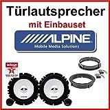 Lautsprecher Alpine mit Einbauset für VW Lupo