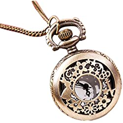 Gleader Key rabbit small hollow pocket watch sweater chain necklace wholesale fashion watch