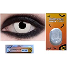 lentilles pour halloween annuelles valables 1 an de couleur sans correction fantaisie crazy déguisement