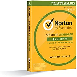 Norton Security Standard 2017 - 1 dispositivo, 1 anno