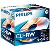10 x CD-RW - 700 MB ( 80 Min ) 4x - 12x - Speichermedium