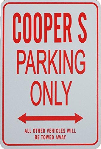 cooper-s-parcheggio-unico-segno-mini-cooper-s-parking-only-sign