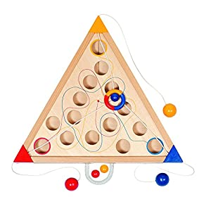 GOKI acción y reflejosJuegos de habilidadGOKITricours, Juego de Habilidad, Multicolor (1)