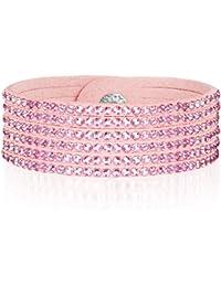 Rafaela Donata - Bracelet fashion cristal de verre - En différentes longueurs, bracelet cristal de verre - 60917077