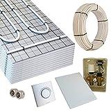 Warmwasser Fußbodenheizung TAC 10m² E-Regelbox Standard
