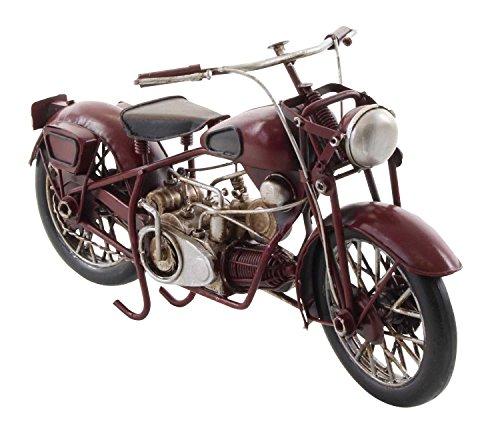 Modellmotorrad Motorrad 27cm Modell Nostalgie Blech Metall Antik-Stil