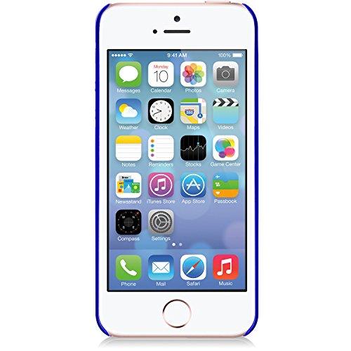 Macally SNAP, Schutzhülle für iPhone SE, 5/5s, Blau -