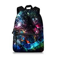 Universe Galaxy Backpack School Bags for Children