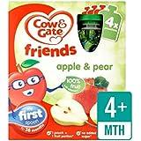 Vache Et Porte Pommes Et Poires 100% Fruits Sachets 4 X 90G - Paquet de 4