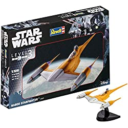 Revell- Star Wars Naboo Starfighter, Kit modele, Escala 1:109 (03611)