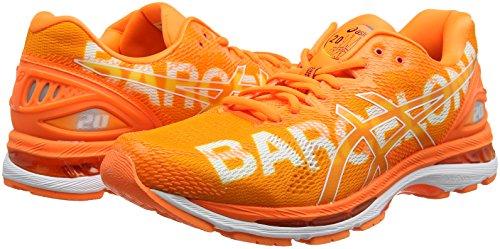 shoes Marathon Arancione Barcelona Asics Corsa Amazon Gel 20 nimbus Da XuZOkPi