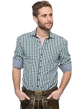OS-Trachten Herren Trachtenhemd