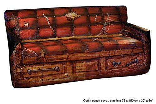 Preisvergleich Produktbild Couchbezug Sarg ca. 75 x 150cm braun Kunststoff